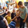 Iskola látogatáson az óvodások