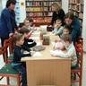 óvoda farsangi játszóház a könyvtárban